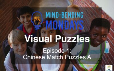 Mind-Bending Mondays: Visual Puzzles, Episode 1  Chinese Match Puzzles